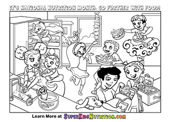 Super Crew™ Coloring Pages - Fun Nutrition for Kids | SuperKids ...