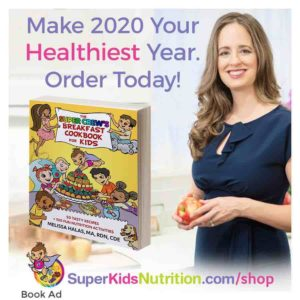 Kids Nutrition Cookbook and activity book Super Crew cookbook