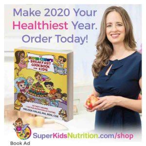 Kids Nutrition Cookbook and activity book Super Crew cookbook