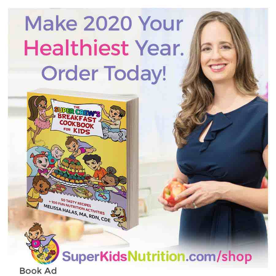 Kids Nutrition Cookbook Super Crew cookbook