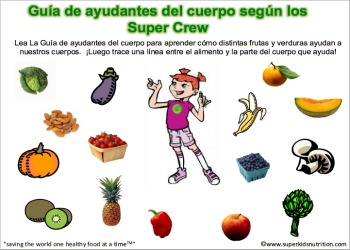 body helper's guide spanish
