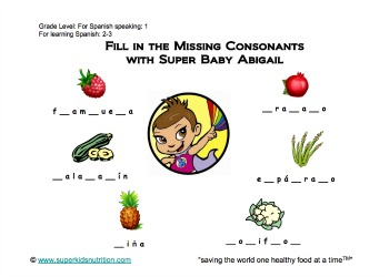 fill in the missing consonants sp