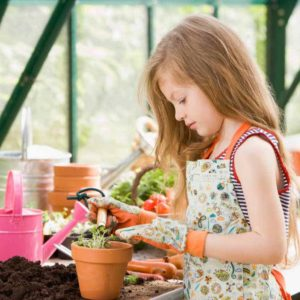 gardening with your kids