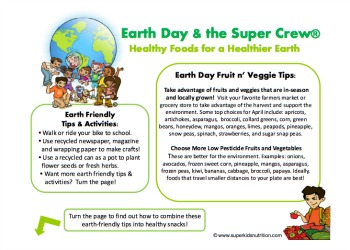 Healthy Foods For A Healthier Earth on super kids math worksheets