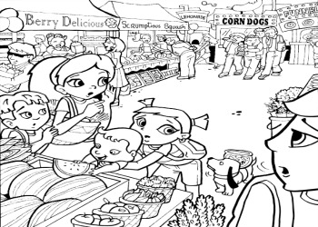 Super Crew™ Coloring Pages - Fun Nutrition for Kids ...