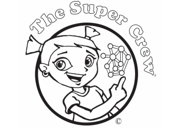 Super Crew Coloring Pages Fun Nutrition For Kids Superkids