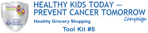 Healthy Grocery Shopping - Tool Kit 5