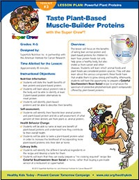 Plant Proteins Lesson Plan