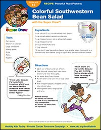 Colorful Southwestern Bean Salad Recipe
