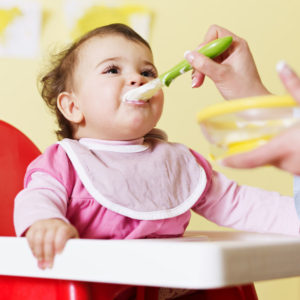 baby food eating