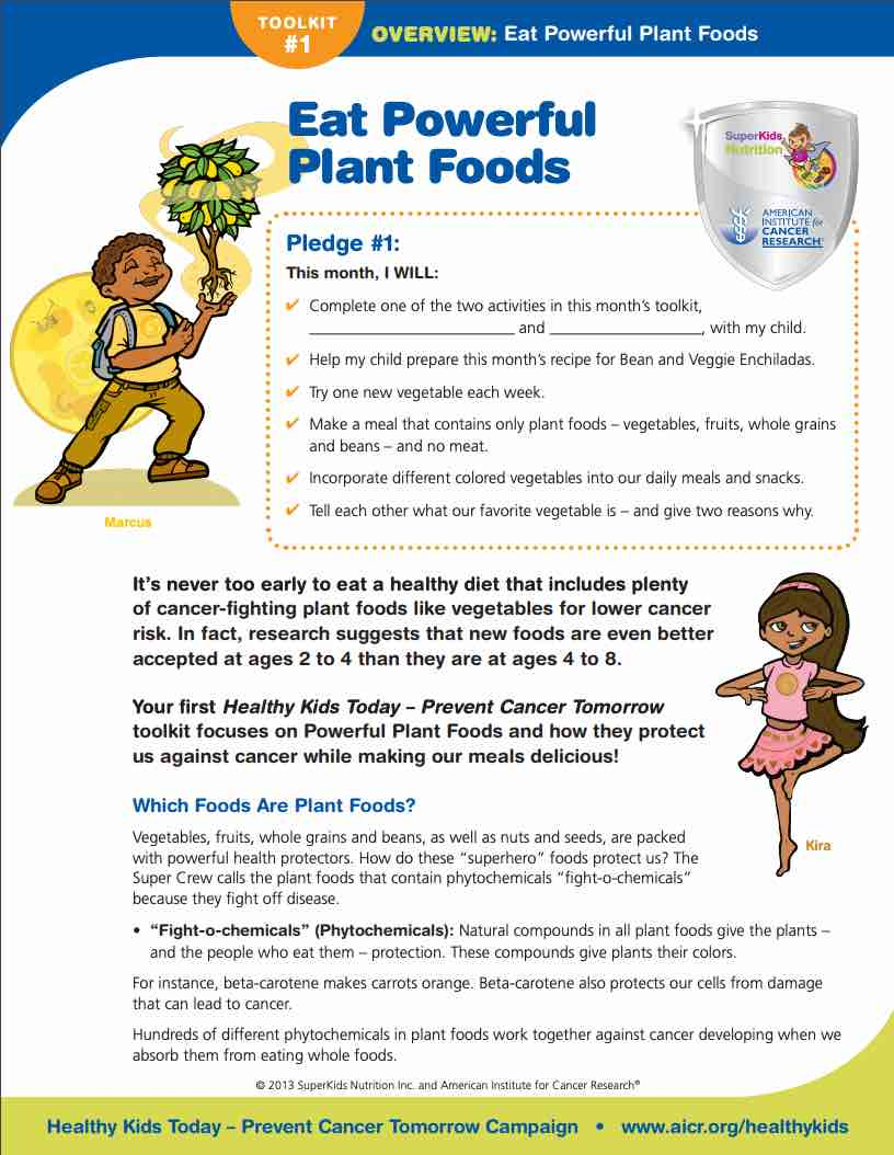 plant-based eating toolkit for kids
