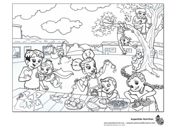 Valentines Coloring Page For Site