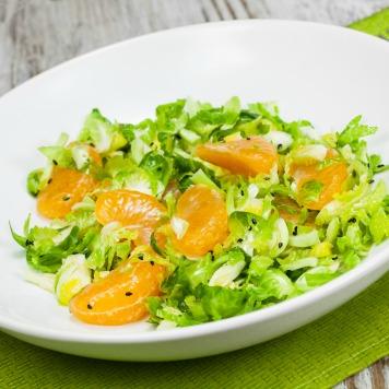orange brussel sprout salad HP