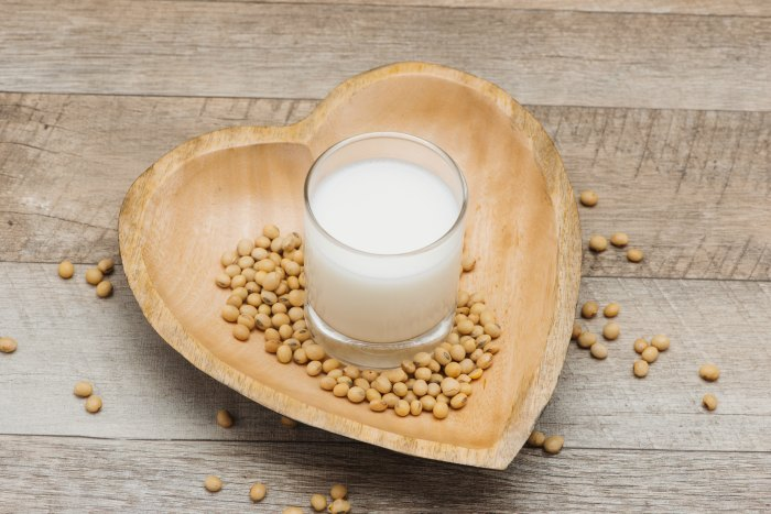 soy milk is safe and healthy