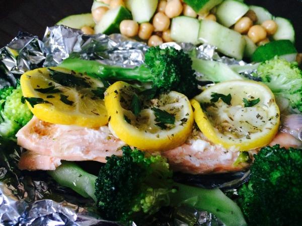 Salmon Broccoli recipe