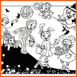 halloween coloring page 356
