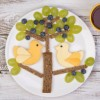 food art cheese hearts grapes HP