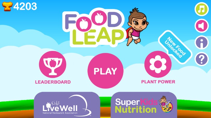 Home screen FoodLeap for article