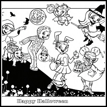 Super Crew Free Coloring Pages