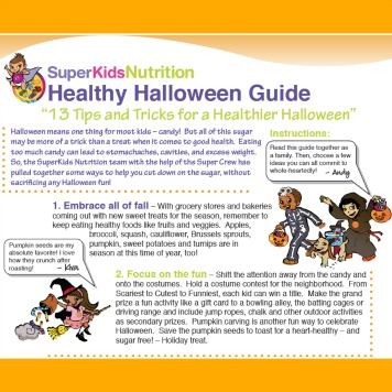 Kid Activities for a Happy Halloween!