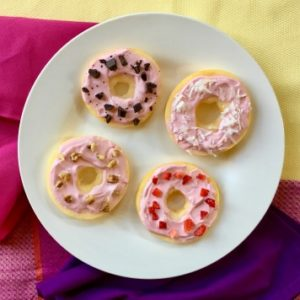 Frosted Apple Donuts - A Healthy, Tasty Dessert!