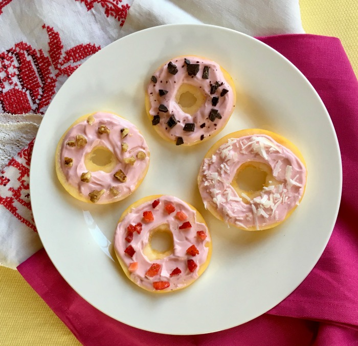 apple donuts healthy holiday tips for dessert