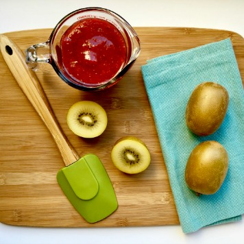 So Sweet Kiwi Cranberry Sauce & Syrup!