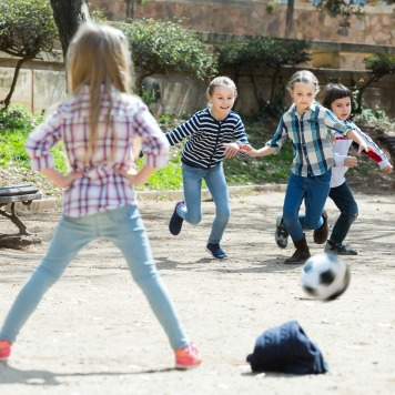 Making Childhood Memories with Outdoor Games