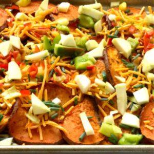 tasty sweet potato nachos for the family