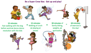 exercise for busy parents and kids