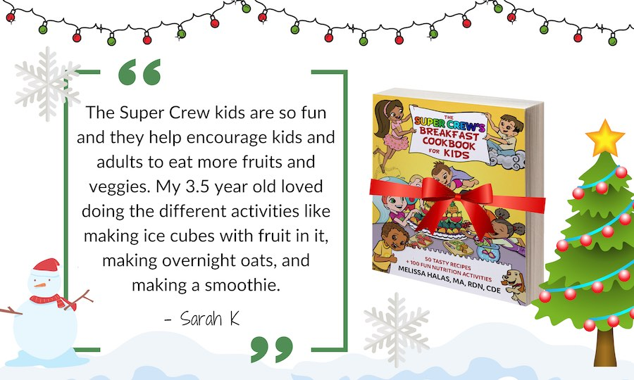 Super Crew breakfast cookbook quote holidays