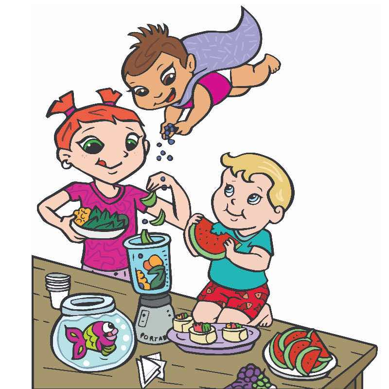 Nutrition for kids cooking activities and fun recipes