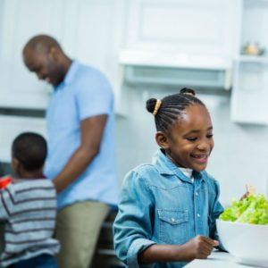 Get Kids in the Kitchen to Improve their Health