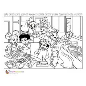 Super Crew free printable coloring pages
