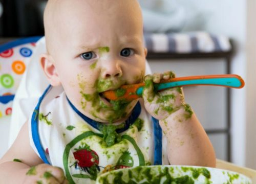 Part 1 of 2: Feeding Solids to Your Baby During the First Year of Life