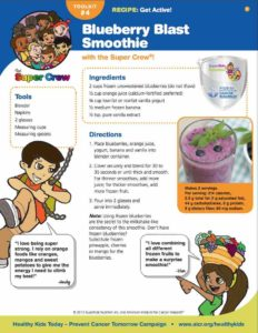 Blueberry Blast Smoothie for Kids