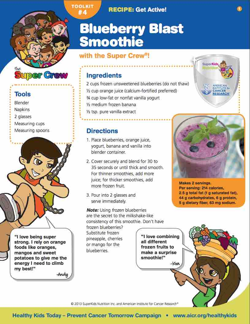 Boost Up With Blueberries | SuperKids Nutrition