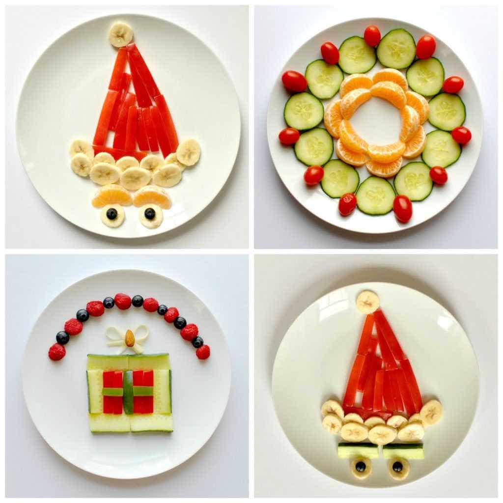fun holiday food art for kids