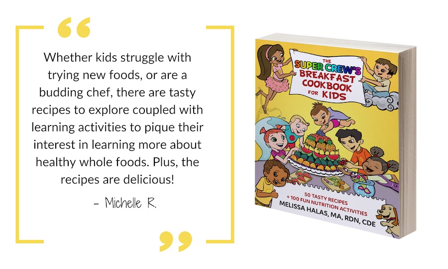 quote about kids activities and cookbook