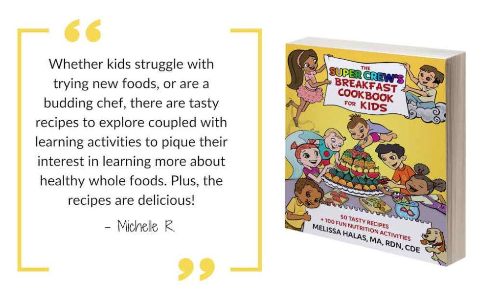 quote from breakfast cookbook for kids superkids nutrition