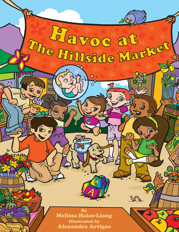 Havoc at the Hillside Market