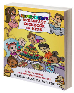 book cover of The Super Crew's Breakfast Cookbook for Kids