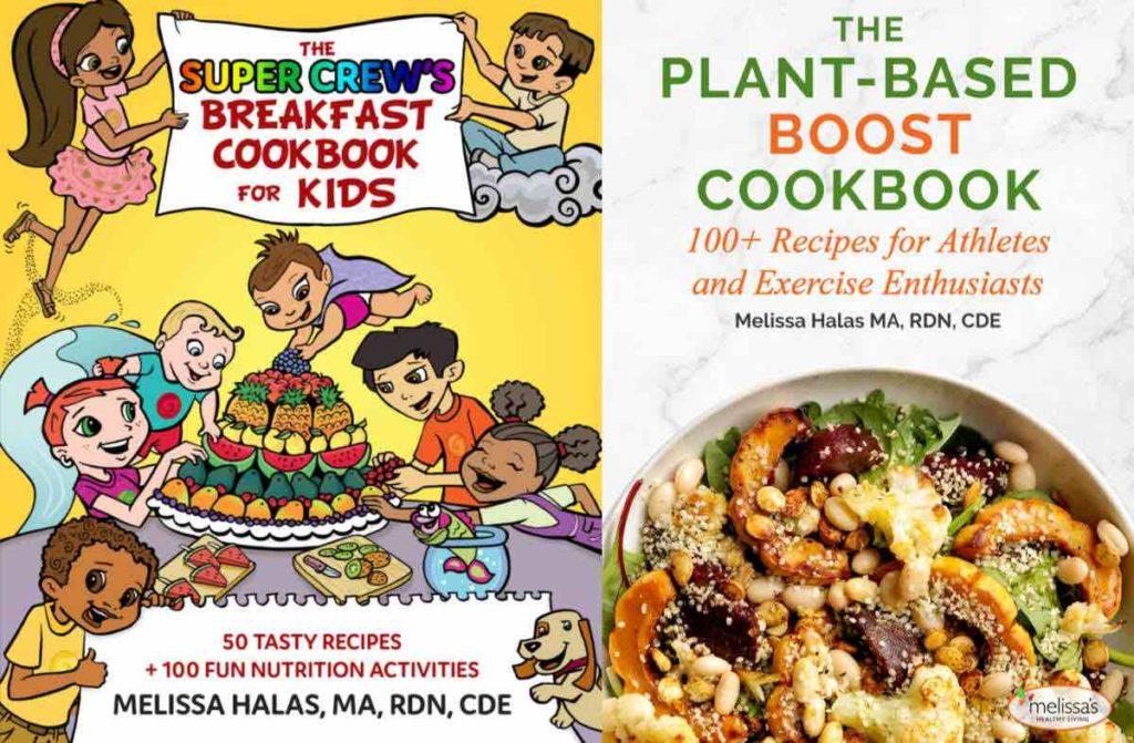 Melissa Halas cookbooks