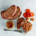 Nutty Cinnamon Fruit Spread with apricot jam