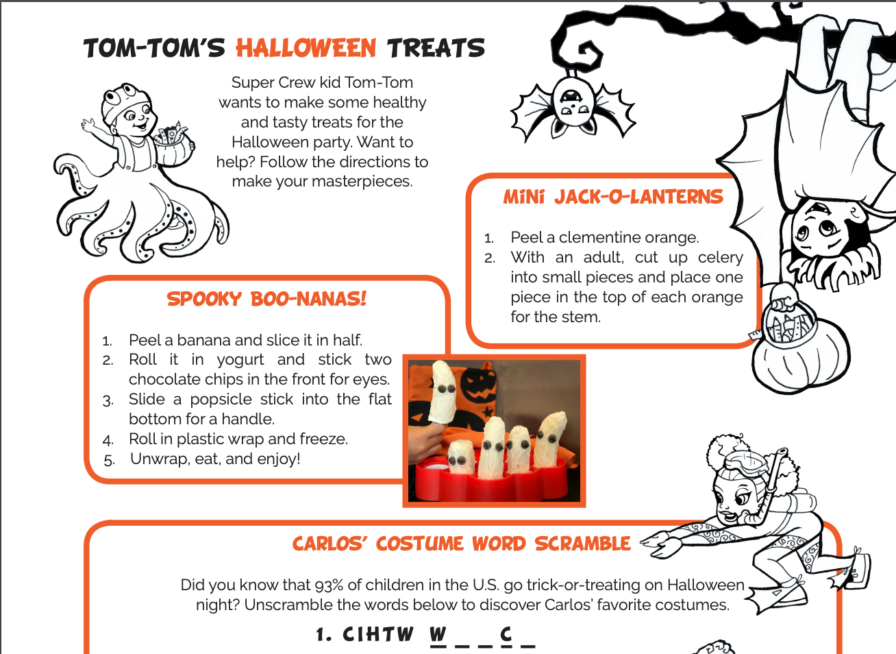 Tom-Tom's Halloween Treats