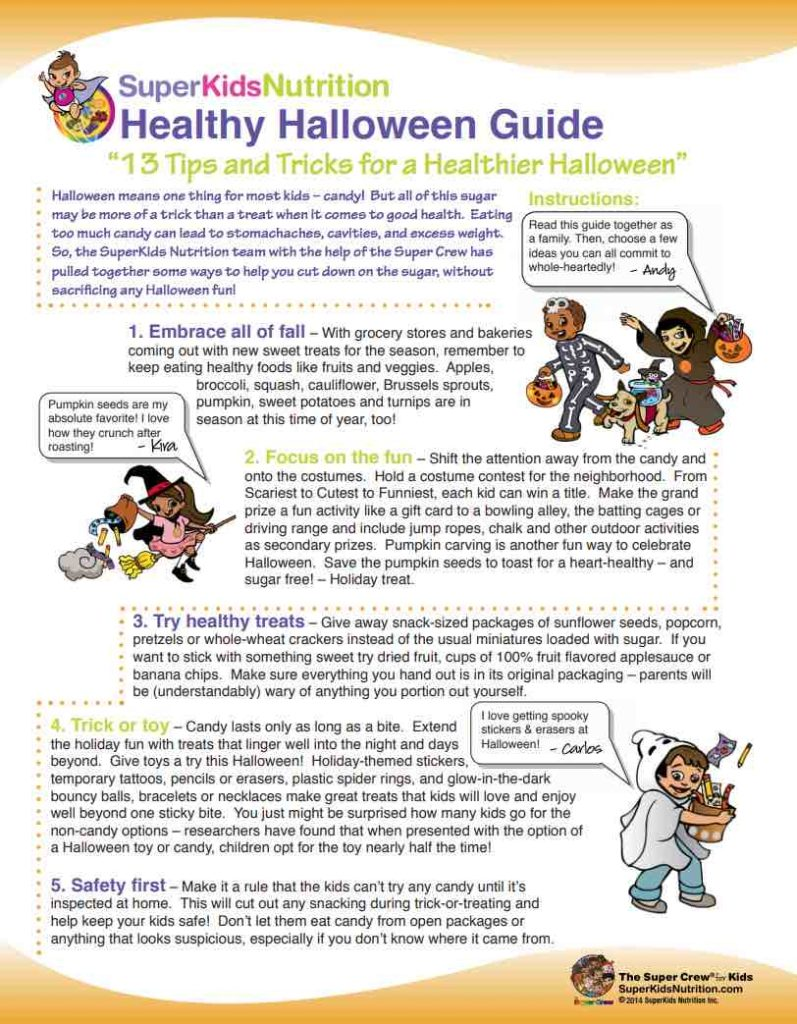 Healthy Halloween Guide