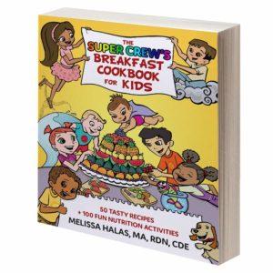 The Super Crew Breakfast Cookbook & Activity Book for Kids