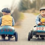 goal setting for kids young boy riding go cart with 2021