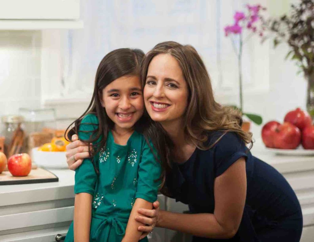 Abby and Melissa in kitchen