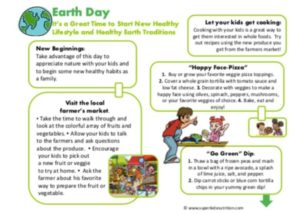earth day kids activity superkids nutrition
